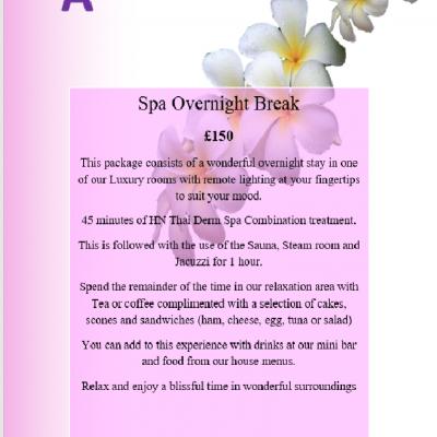 Spa overnight deals scotland